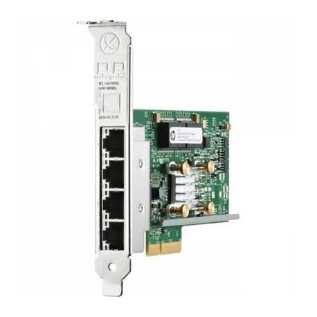 HPE Tarjeta Gigabit ethernet 4 puertos pci express