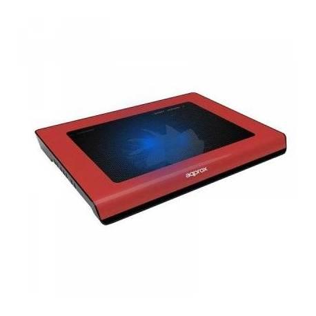 approx APPNBC06R Refrigerador portatil 15.4' Rojo