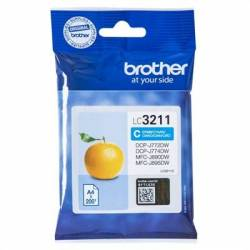 Brother Cartucho LC3211C Cyan Blister