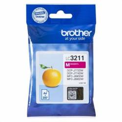 Brother Cartucho LC3211M Magenta Blister