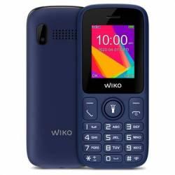 Wiko F100 Telefono Movil 1.8' QVGA BT Azul