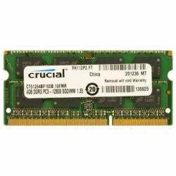 Crucial CT51264BF160B soDim 4GB DDR3L 1600MHz.