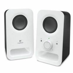 Logitech Altavoz 2.0 Z150 Blanco